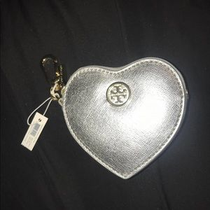 NWT TORY BURCH KEYCHAIN CARD HOLDER